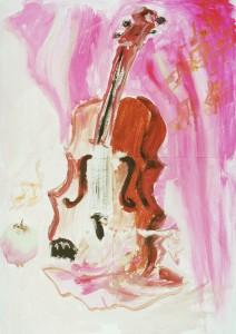 Скрипка и Яблоко