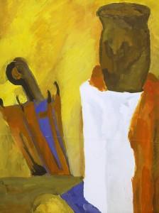 Картины и эскизы