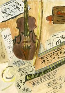Натюрморт. Скрипка